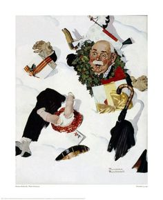 White Christmas - Norman Rockwell