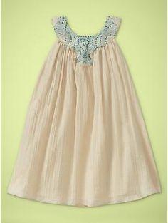 Embellished crepe dress | Gap