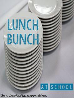 Tuesday Teacher Tips: Social Committee's Lunch Bunch #BackToSchool