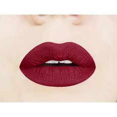 Red Dahlia Matte Liquid Lipstick. Dark. Vampy. Maroon. Vegan. ❤ liked on Polyvore featuring beauty products, makeup, lip makeup, lipstick, lip gloss makeup, mineral lipstick, gloss lipstick, shiny lipstick and glossy lipstick