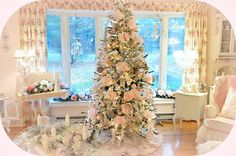 Shabby pink Christmas (from Romancing The Rose Studio)