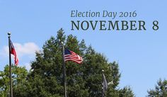 Plan ahead to spend some time at the polls on Tuesday!