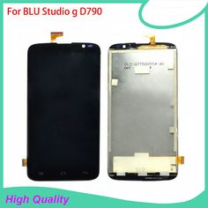 LCD Display For BLU Studio g D790/u/l 790 Mobile Phone LCDs Touch Screen 100% Guarantee Black Color Touch Panel Free Tools #Affiliate