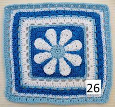Ravelry: Maryfairy's 2011 BAMCAL Blanket