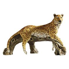 Design Toscano H x W Animal Garden Statue at Lowe's. Though it's the smallest in its genus, no one would argue with the breathtaking beauty of the African leopard. Our Design Toscano exclusive animal statue Animal Statues, Animal Sculptures, Lion Sculpture, Outdoor Statues, Garden Statues, Biker Gnomes, African Leopard, Leopards, African Safari