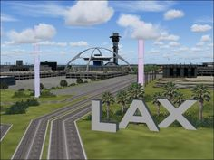 LAX is a work of art! An unknown user creates a Minecraft model of Los Angeles International Airport.