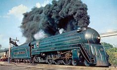 Image detail for -File:The Cincinnatian Baltimore and Ohio steam locomotive 1956