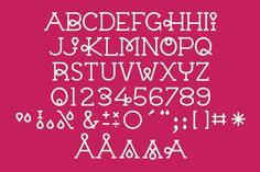 Vector Typeface: Chloe