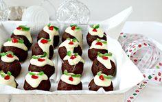 Milk and Honey: Christmas Pudding Truffles