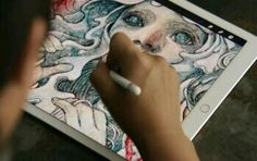The ipad pro for artist!