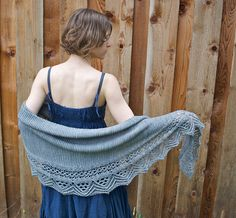 Cozy up in Flow, a generous DK-weight shawl with dramatic lace edging and a sophisticated crescent shape. The loose gauge gives it beautiful drape, and the easy garter body creates a warm and inviting piece that's casual enough for everyday wear.