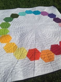 Symmetry Quilt ~ finished by ~Me1issa, via Flickr