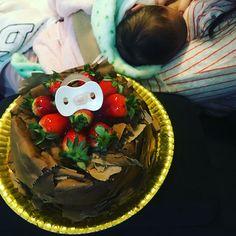 1 Semana de Bella! 7 dias da mais pura e mágica felicidade! 😍❤️🎂👶🏻🎁🎈🎊🎉🎀  #7diasdefelicidade #semananiversario #babybella #bella #paidemenina #bb9 #bebebaraba #bebe9 #renanbarabanov