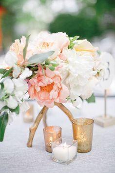 Pretty Peachy Blush Tones Gold Wedding Inspiration | peach and blush wedding | www.endorajewellery.etsy.com