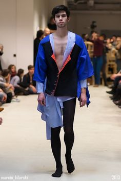design by Karolina Gwóźdź Fashion Design Dept at School of Form #schoolofform fot. Marcin Kilarski