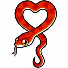 Red Snake Cartoon | Cartoon Corn Snake (bloodred) Photo Sculpture