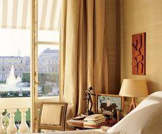 Jacques Grange in Paris : Architectural Digest Plywood Furniture, Design Furniture, Luxury Furniture, Architectural Digest, Eames, Paris Flat, Paris Bedroom, Paris Home, Design Your Dream House
