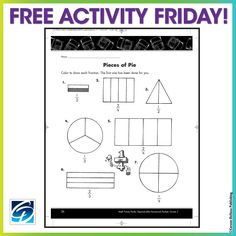 We want to help make lesson planning as easy as pie! Here's a free activity to use as a warm up or early finisher activity!