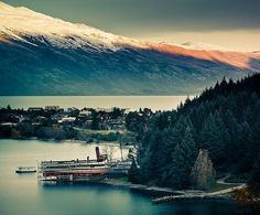 Queenstown, New Zealand. I WILL go back one day! LITERALLY... MY FAVORITE!!