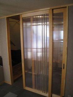 Multiwall Polycarbonate Quot Barn Door Quot Style Sliding Door