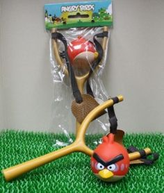 Perfect angry birds party favor