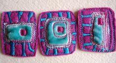 Dog-Daisy Chains: textiles