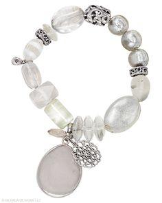 Jewelry Box by Silpada Designs   Bracelets   Sterling Silver, Glass & Crystal Bracelet