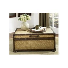 Found It At Wayfair   Hidden Treasures Trunk Coffee Table With Lift Top