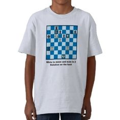 Chess Mate In 2 Puzzle #1 Tshirt by Tees2go