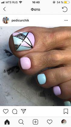 Tiffany nail art for an eye catching pedi.♥️♥️♥️ #NailDesignsspring