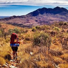 The six day 224km Larapinta Trail along the MacDonnell Ranges is one of…