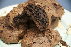 Fizemos cookies de chocolate sem glúten para alegrar todas as pessoas do mundo! <3