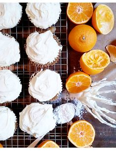 Sunny Mandarin Orange Cakes & Frosting On Top! #SnackWithImpact #spon #feedfeed #backtoschool