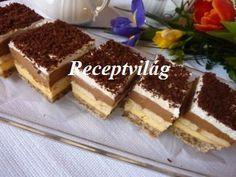 RECEPTVILÁG - Receptes oldal - receptek képekkel - G-Portál   3bit szelet