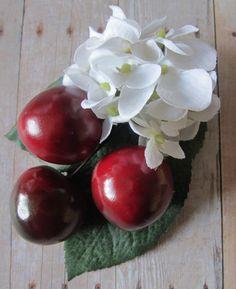 Cherry hair Cluster Clip  Carmen Miranda by olgadesigns, $8.00