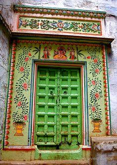 Varanasi Door 13 by elusiveradiance
