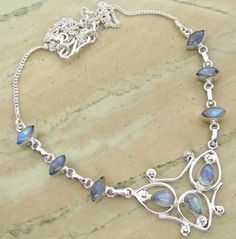 6.72ctw Genuine Rainbow Moonstone & .925 Sterling Silver Plated Brass Necklace (SJHN0082RMS) #fashionnecklaces #beautifulnecklaces #cheapnecklaces #silvernecklacesforwomen #necklacependants #silvernecklaceslong #silvernecklace #personalizednecklaces #womensnecklace #silvernecklaceformen #menssilvernecklace #mennecklaces #mensnecklaces #gemstone necklaces Buy Now:  http://www.sterlingsilverjewelry.tv/genuine-rainbow-moonstone-silver-plated-brass-y-necklaces-sjhn0082rms.html