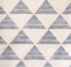 textiles from Zak + Fox via design*sponge Geometric Patterns, Textile Patterns, Geometric Shapes, Print Patterns, Geometric Fabric, Geometric Designs, Fox Design, Pattern Design, Fox Pattern