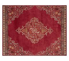 Bryson Persian-Style Rug - Red #potterybarn