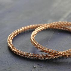 EXTRA Large Rose gold Hoop earrings  gold hoops ethnic by Yoola