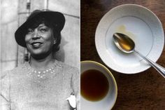 Zora Neale Hurston and Chicken Consomme - from Paper and Salt blog