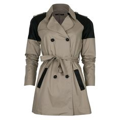 Trench bimatière - devant Parka, Trench, Ecommerce, Fall Winter, Jackets, Fashion, Buttons, Pockets, Classic