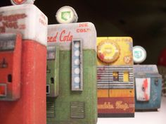 Nazi Zombies Miniature Perk Machines from Call of Duty by SALSAG8R, $70.00