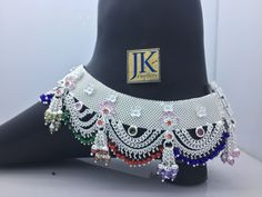 Silver Anklets Designs, Anklet Designs, Gold Bangles Design, Gold Earrings Designs, Waist Jewelry, Indian Jewelry Earrings, Ankle Jewelry, Silver Jewellery Indian, Foot Jewelry Wedding