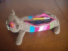crochet pencil case | Last Edit: April 13, 2013 03:14:27 PM by spikefan - Reason: added ...