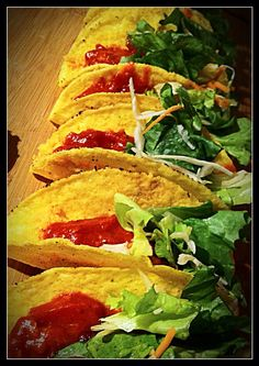 one of my wonderful meals *.* vegan Tacos <3 Yummie!
