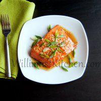 Sesame Ginger Honey Salmon