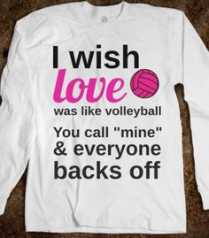 Funny Funny Volleyball Shirts Ideas of Funny Volleyball Shirts - Funny Team Shirts - I Funny Volleyball Shirts, Volleyball Workouts, Volleyball Outfits, Volleyball Drills, Volleyball Gifts, Volleyball Players, Volleyball Ideas, Volleyball Accessories, Coaching Volleyball