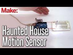 DIY Hacks & How To's: Motion Sensor Love this idea too! Holidays Halloween, Halloween Diy, Halloween Decorations, Haunted House Props, Halloween Haunted Houses, Diy Hacks, Paintball, Animated Halloween Props, Horror Decor
