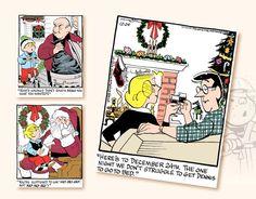 Promo Calendars 2017 - Dennis The Menace Comic Art Calendar - Art Calendar, Calendar 2017, Dennis The Menace Comic, First Night, Comic Art, December, Comics, Calendar For 2017, Comic Book